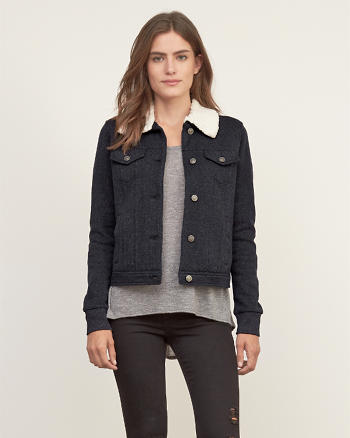 ANF Sherpa Lined Classic Jacket