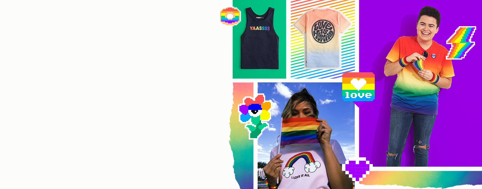 237e80b2f68 Pride collection Be the you you love.