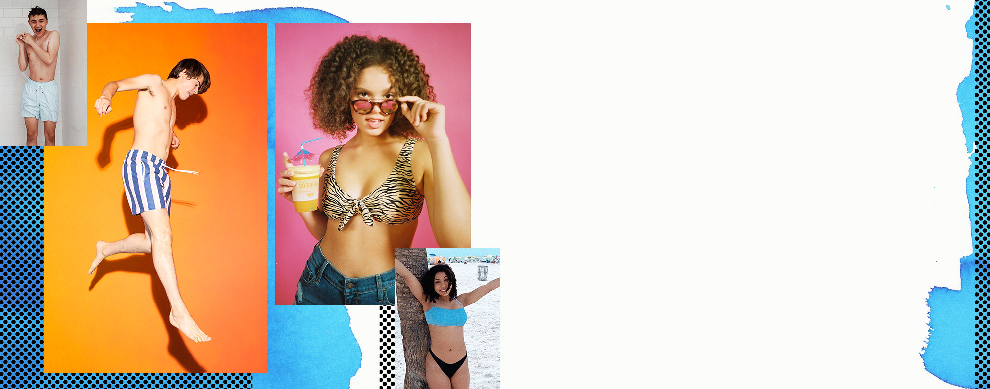 e27cfa58b8 all the swim vibes Make this summer a whole vibe with new swimwear for  anywhere.