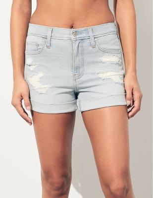 0aa69c26e849c Shorts en jean et sergé Shorts en jean et sergé Déclinés dans toutes les  coupes et hauteurs de taille. Couture d'entrejambe : 3