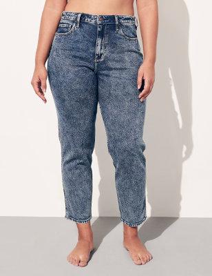 Hollister Co. Jeans Skinny Fit Donna Bianco Denim