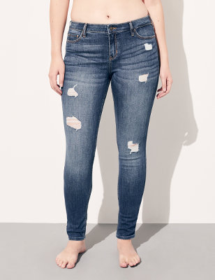 2784f5745a67 Super Skinny Jeans for Girls   Hollister Co.