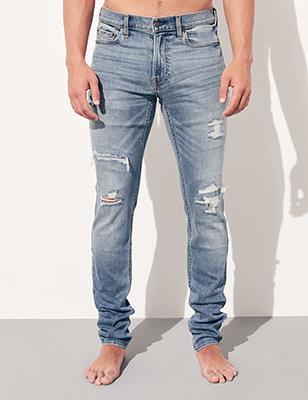 Skinny Jeans & Denim for Guys | Hollister Co.