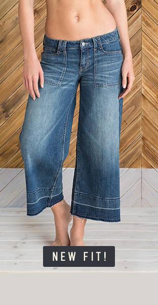 culotte jeans hollister co