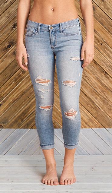 Super Skinny Jeans for Girls | Hollister Co.
