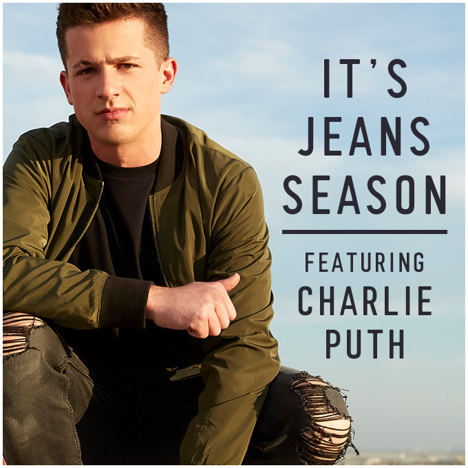 It's jean season with Charlie Puth