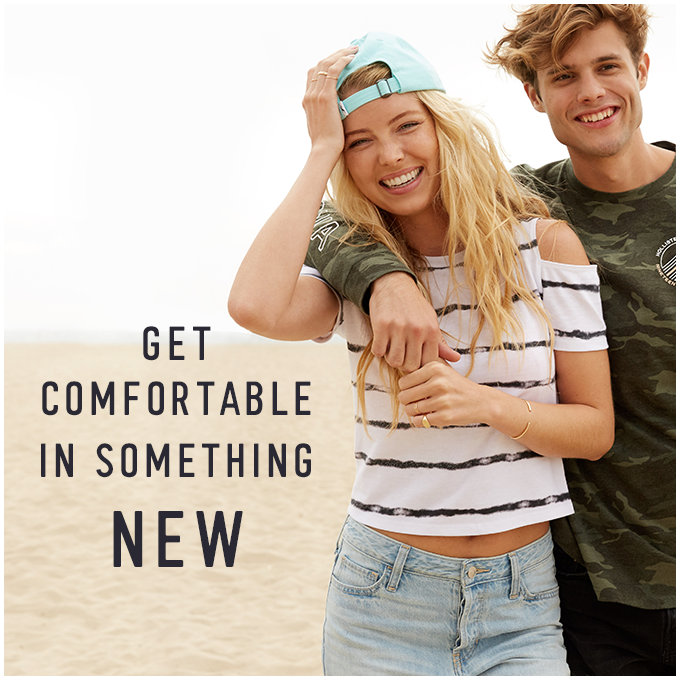 Get comfortable in something new