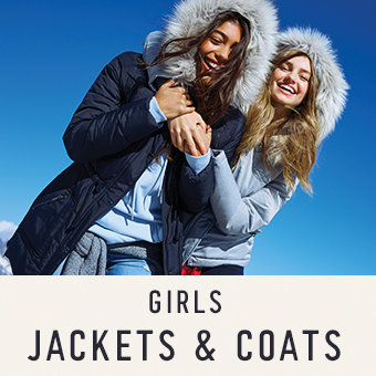 Girls jackets and coats