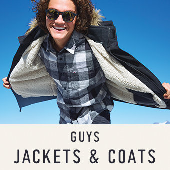 Guys jackets and coats