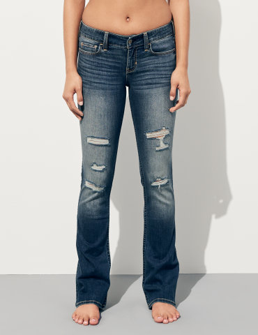 hollister damen jeans