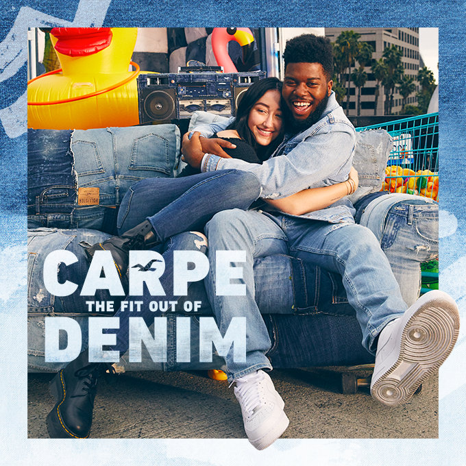 CARPE THE FIT OUT OF DENIM