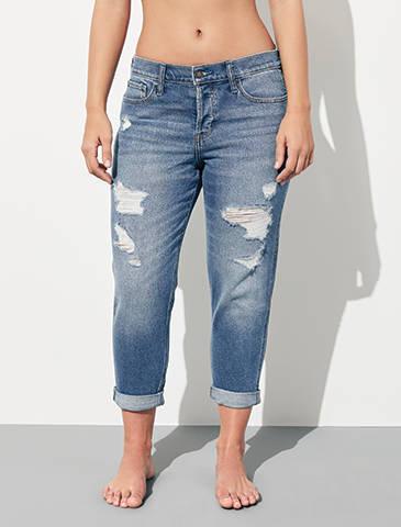 Captivant Boyfriend Jeans
