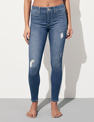 sale retailer d3fca ed296 Fille Legging en jean   Hollister Co.