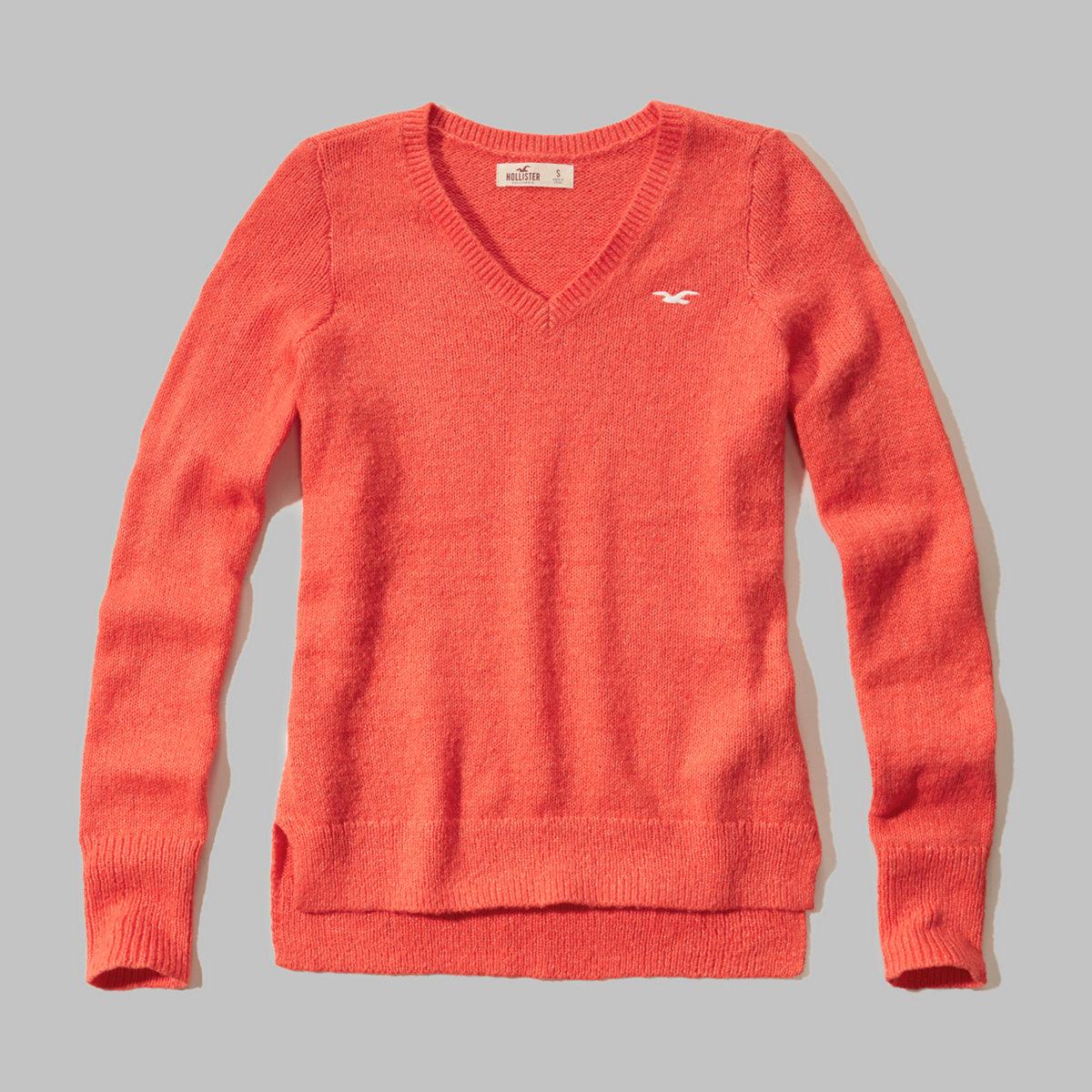 Iconic V-neck Sweater