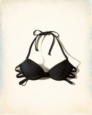 Push Up Strappy Swim Top
