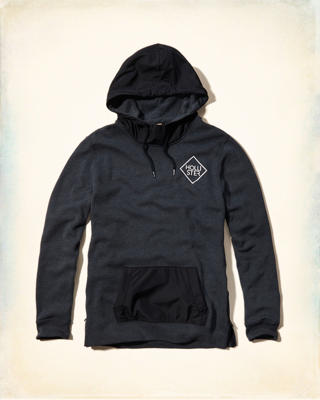 Side Zip Graphic Hoodie