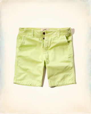 Hollister Classic Fit Button Fly Shorts