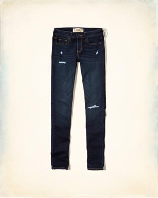 Low-Rise Super Skinny Jeans