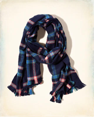 Patterned Woven Scarf