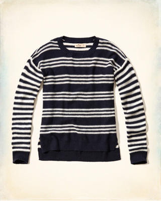 Stripe Crew Sweater