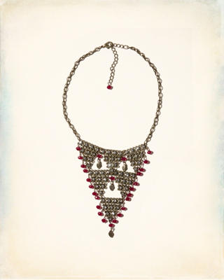 Beaded Shine Necklace