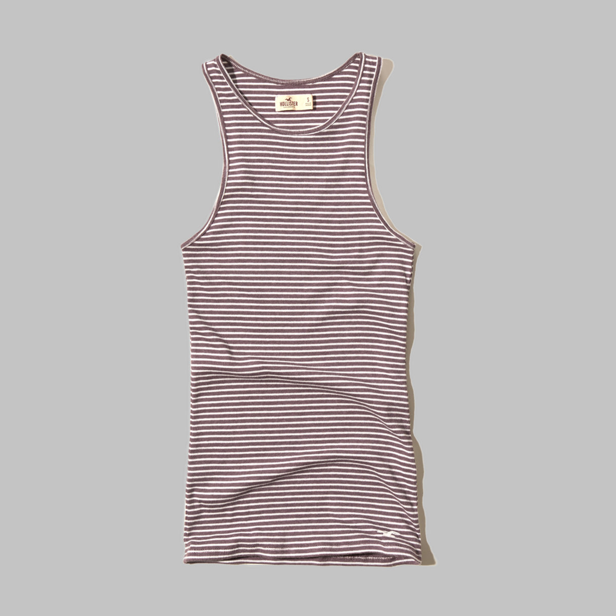 Must-Have High Neck Ribbed Tank