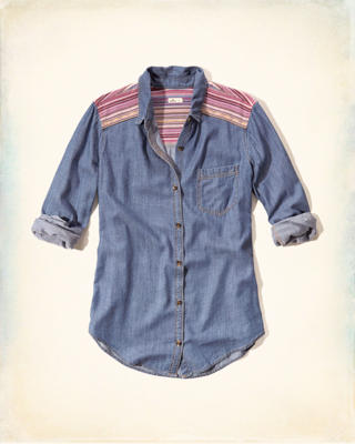 Tapestry Chambray Shirt