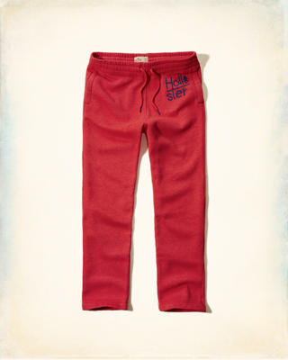 Hollister Logo Graphic Sweatpants