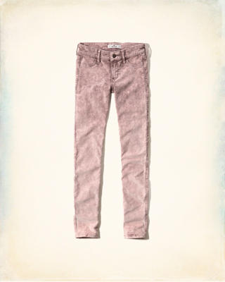 Hollister Corduroy Super Skinny Pants
