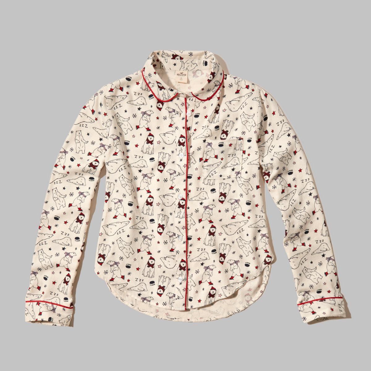 Flannel Sleep Shirt