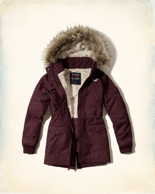 Hollister All-Weather Parka