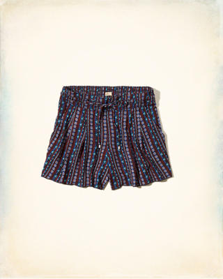 Pleated Drapey Shorts