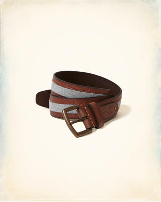Mixed Leather Belt