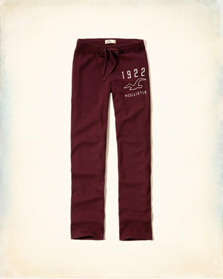 Hollister Shine Logo Sweatpants
