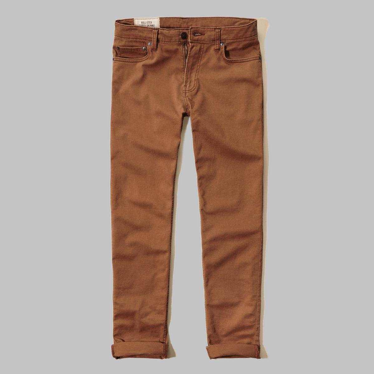 Super Skinny 5 Pocket Zipper Fly Pants