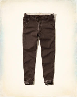 Hollister Herringbone Twill Jogger Pants