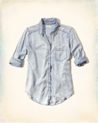 Chambray Easy Shirt