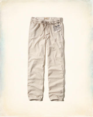 Hollister Graphic Boyfriend Sweatpants