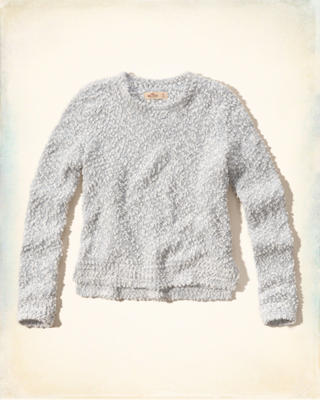 Fuzzy Shine Sweater