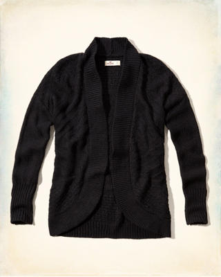 Textured Cocoon Sweater