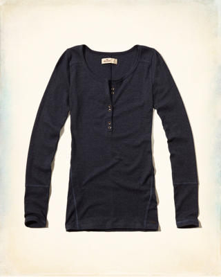Slim Long-sleeve Henley