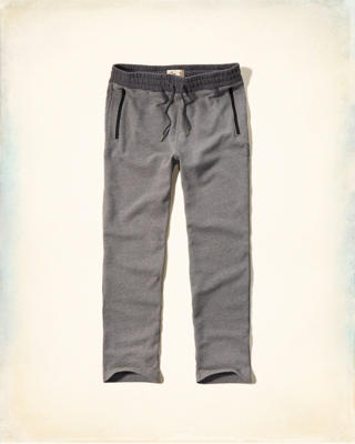 Hollister Textured Fleece Sweatpants