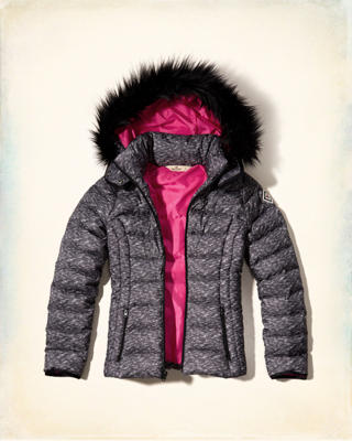 Hollister Down Puffer Jacket