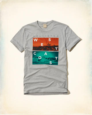 West Coast Graphic tee