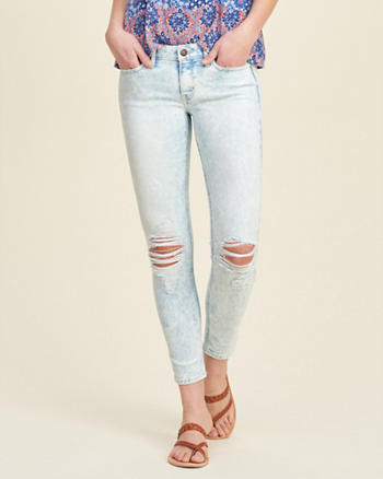Hollister Crop Jeans