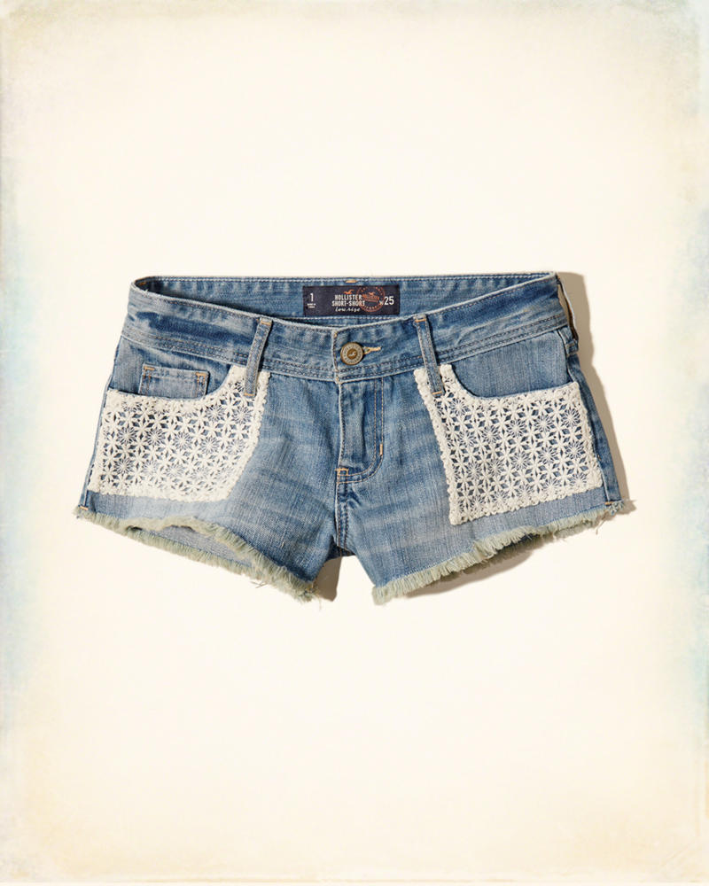 hollister jean shorts - photo #23