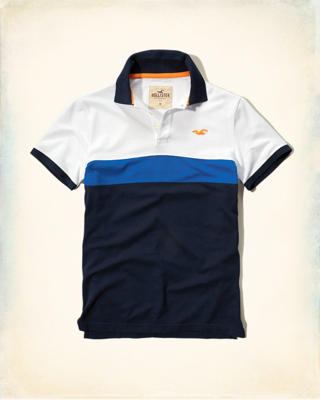 Colorblock Icon Polo