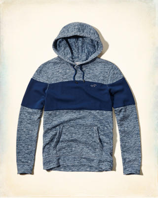 Iconic Chest-contrast Hoodie