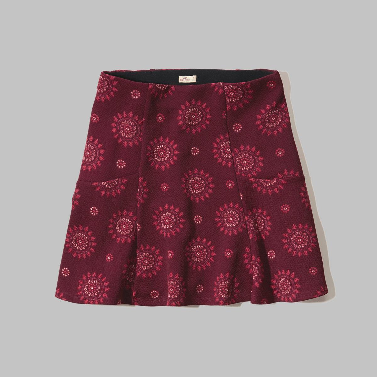 Paisley Skater Skirt