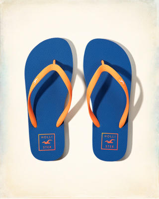 Rubber Icon Flip-Flops
